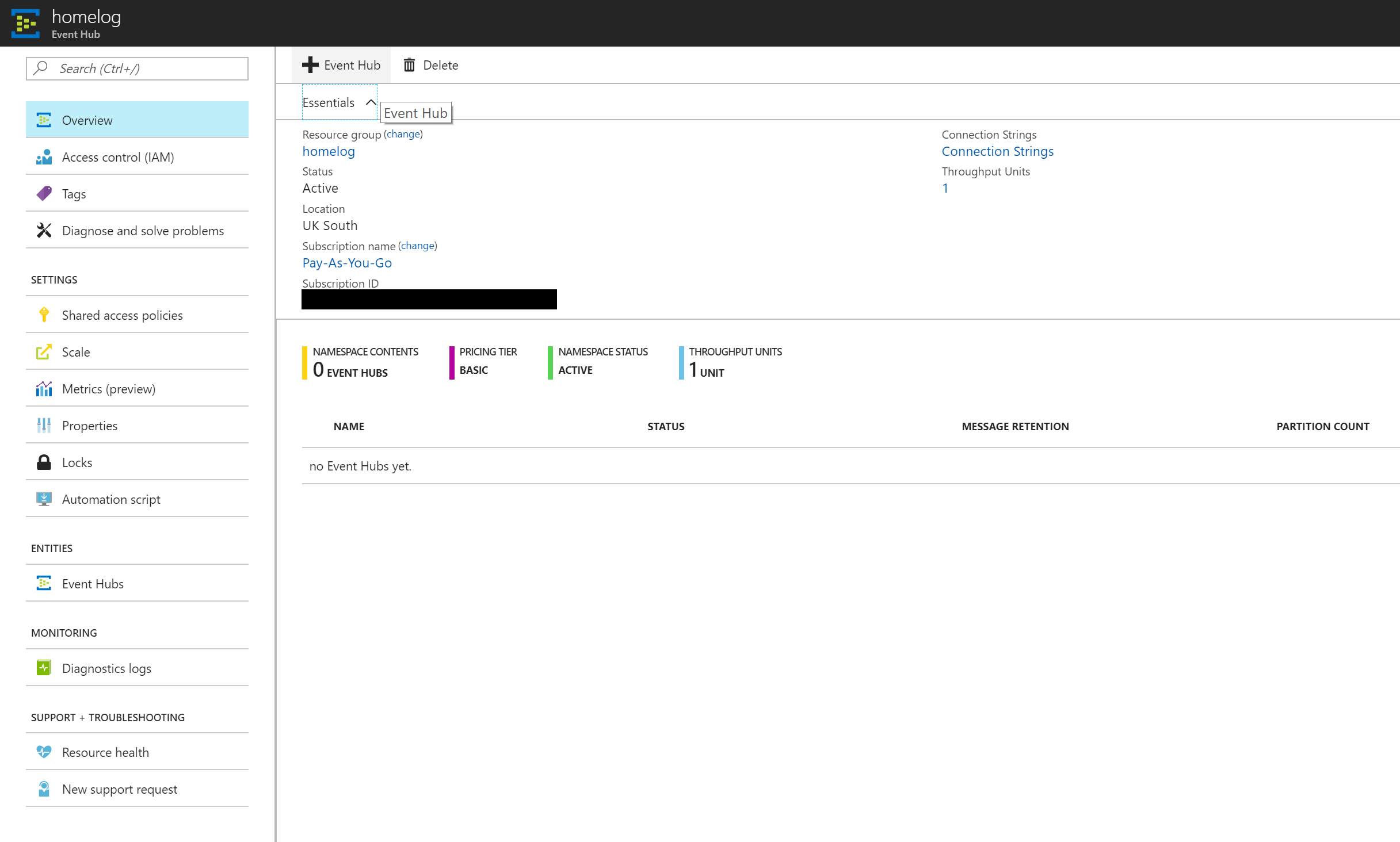 Centralised logging with Rsyslog and Microsoft Azure - Part 1